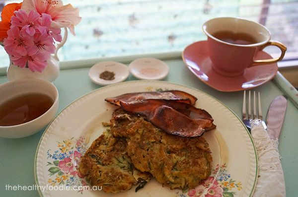 Apple Zucchini Hash ~ served sweet or savoury