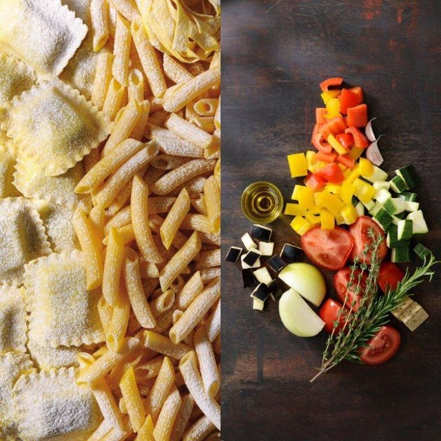 For a quick and healthy dinner, why not try a roasted vegetable pasta! Much love KitchenAid Africa xx