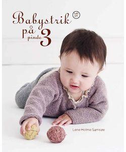 Lene Holme Samsøe: Babystrik på pinde 3 hos SelvStrik.dk