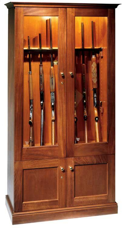 Gun Cabinet Woodworking Plans Want To Modify For Kitchen Not Use Guns