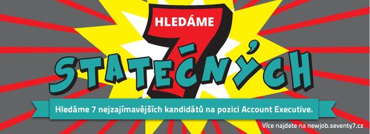 Hledáme nového account managera. Více na http://newjob.seventy7.cz