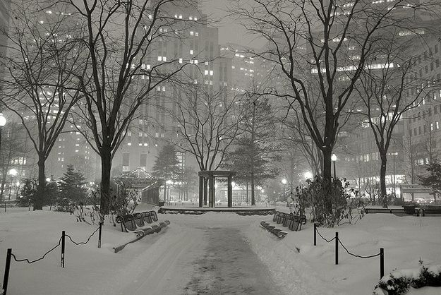 You think Boston looks prettiest after a fresh snowfall. | 24 Things About Winter Every New Englander Knows To Be True