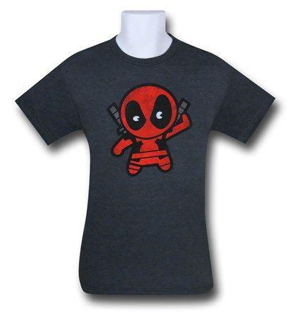 Images of Deadpool Kawaii 30 Single T-Shirt