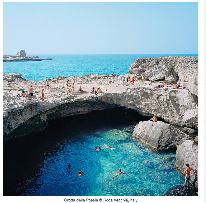 grotta della poesia, roca vecchia, italy: Hoarse Old, The Cave, Buckets Lists, Rocavecchia, Favorite Places, Beautiful Places, Poetry, Pools, Italy