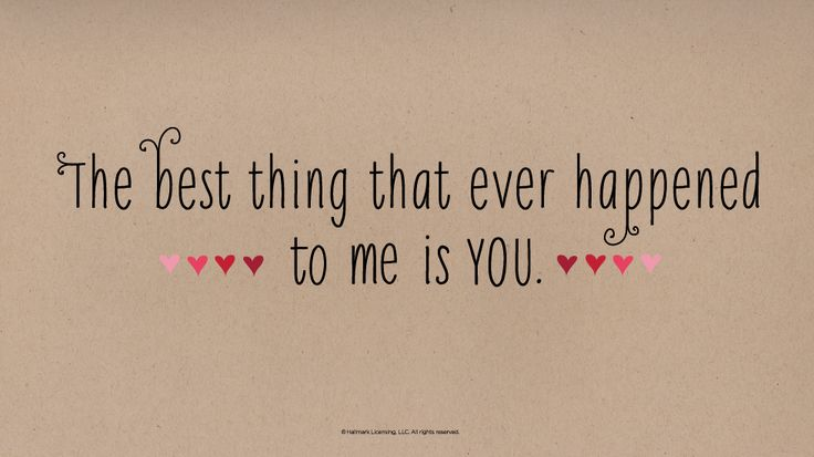 15 Short & Sweet Love Quotes | Share a little love with these sweet (and shareable) love quotes from Hallmark. #Hallmark #HallmarkIdeas