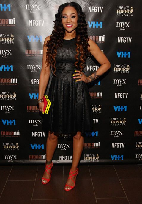 Mimi Faust at the Love & Hip Hop Atlanta Season 2 Premiere in NYC