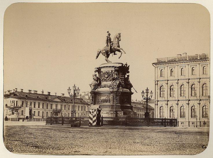 Equestrian monument of Nicholas I of Russia