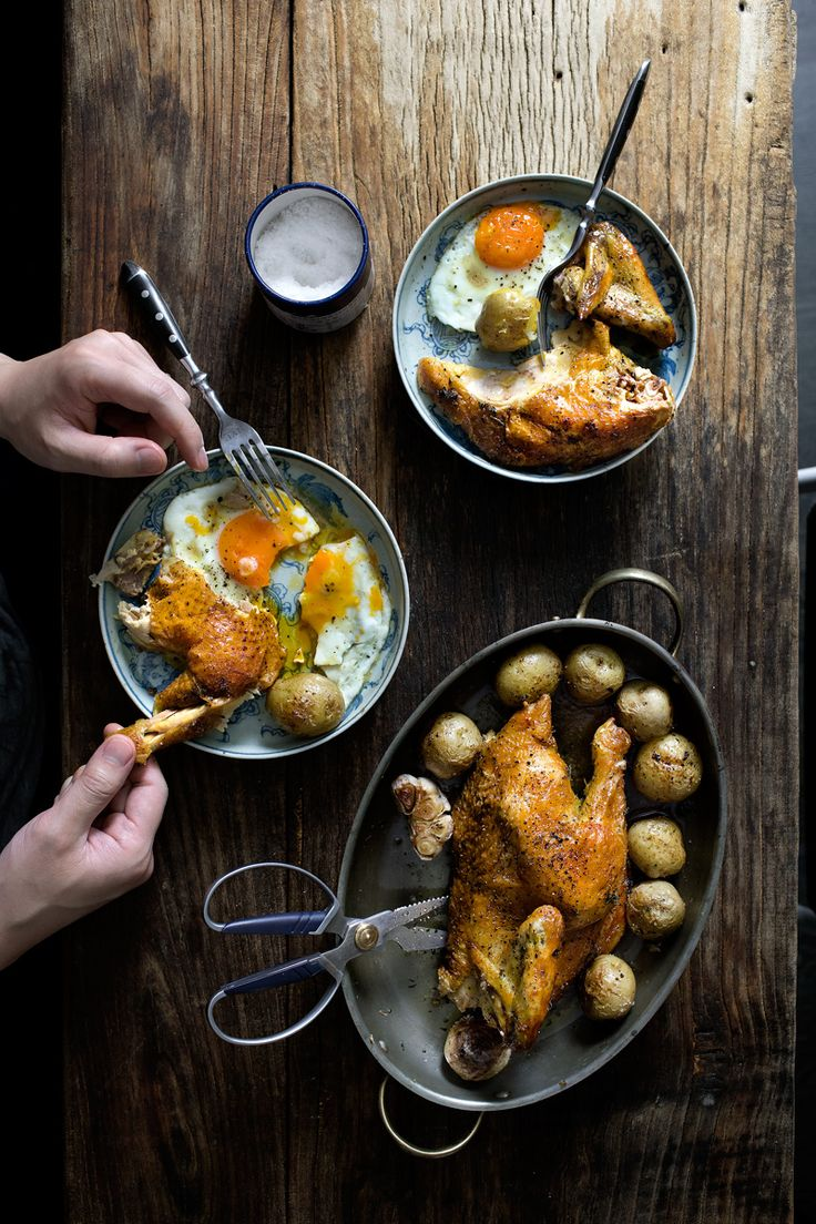 My favourite roast chicken recipe.