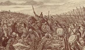 Okay, battle of Gaugamela, Darius fled. again. i went after him but lost him because i had to go back to help my army. Gods i hate this man...