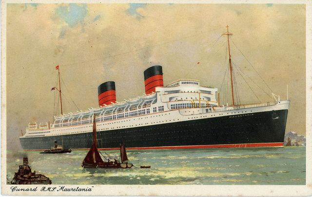 RMS mauretania | RMS Mauretania | Flickr - Photo Sharing!