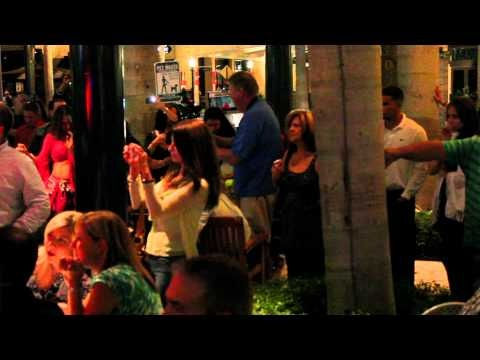 Belly Dance Flash Mob for Breast Cancer Awareness Month at Sawa Restaurant & Lounge in Miami