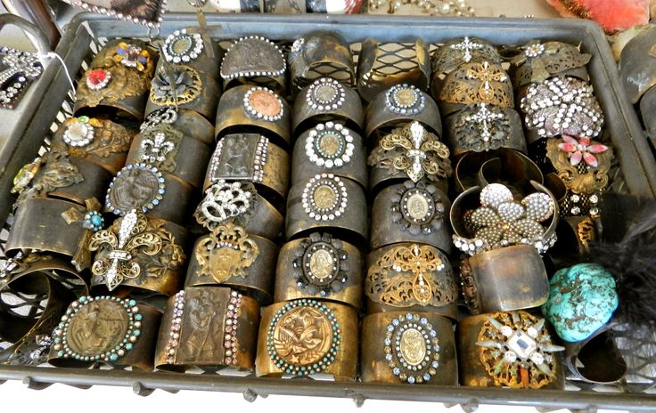 jewelry display - cute leather cuff bracelets