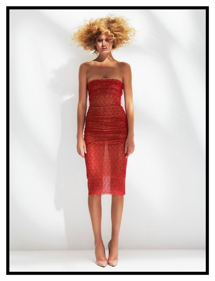 Gold cherry emroidered corset dress