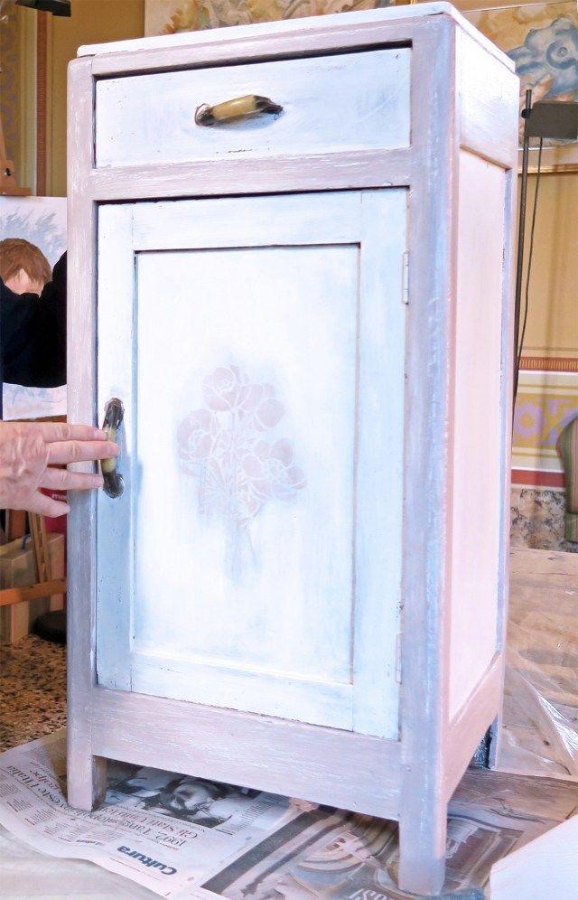 Mobili dipinti fai da te in stile shabby, country e ...