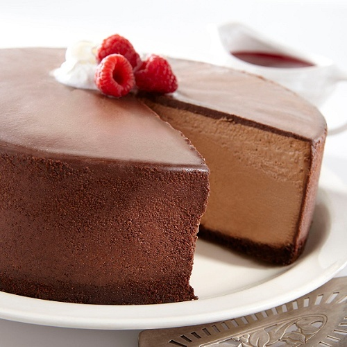 New York Chocolate Mousse Cheesecake | Cheesecakes ♥ | Pinterest