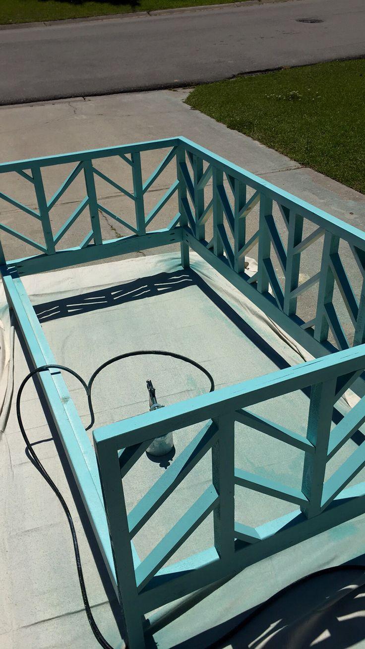 DIY day bed frame using Ana white