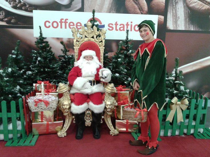 Spotkanie z Mikołajem w Centrum Handlowym Plejada Sosnowiec