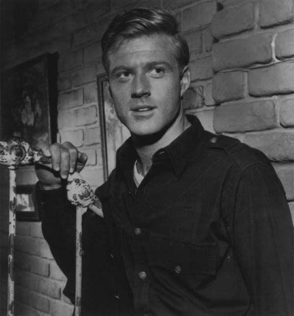 #Sixties | Robert Redford in The Twilight Zone episode, Nothing in the Dark, 1962