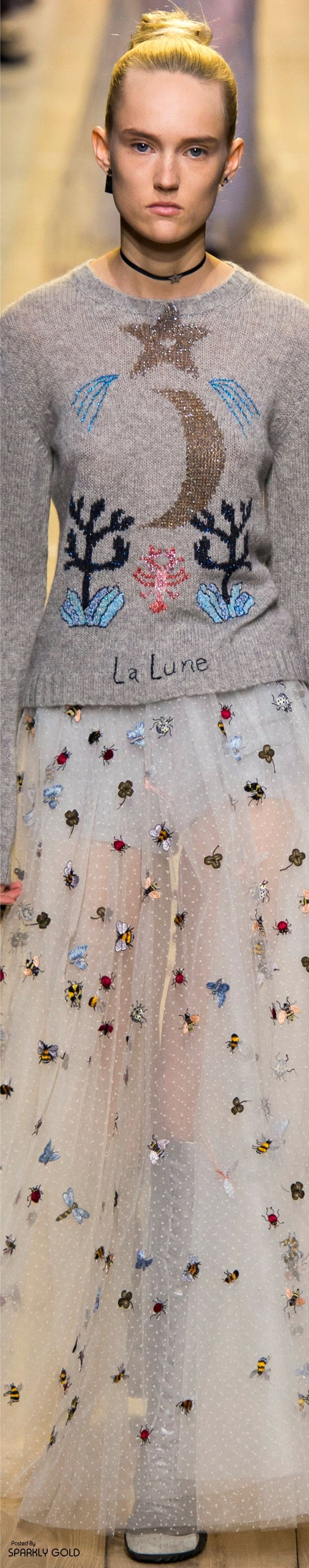 Christian Dior Spring 2017 RTW ~ETS #sweater