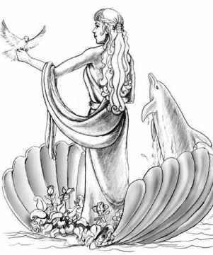 Twelve Olympians Symbols | Picture of Aphrodite | gods ...