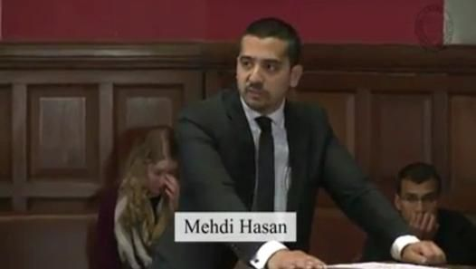 """The video shows Muslim journalist Mehdi Hasan, political editor of the Huffington Post doing a brilliant job of proving how Islam is a religion of peace in a debate with Anne-Marie Waters whose argument stated otherwise.   Anne-Marie Waters, council member of the National Secular Society, listed the events of""""9/11, 7/7, Mali, Somalia, gender discrimination, forced marriages, polygamy, amputation"""" among other incidences of extremism."""