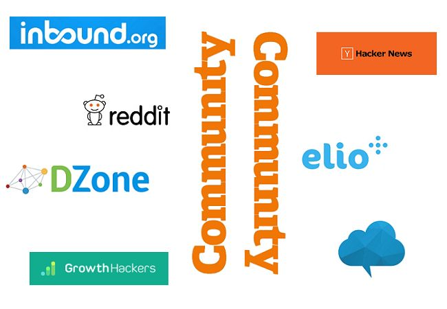 Communities in IT industry to promote your business blog posts