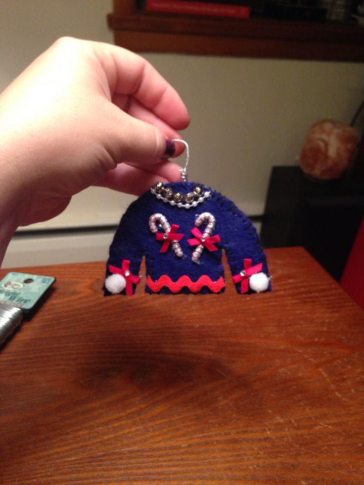 Ugly Sweaters Ornaments Pinterest Candy Canes Ugly