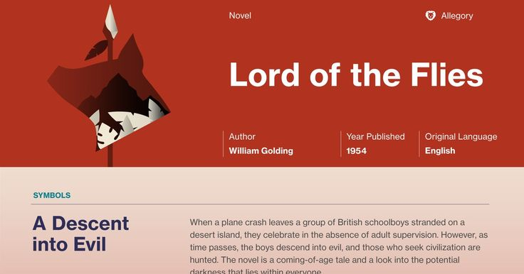 an analysis of the story in the novel lord of the flies by william golding An analysis of lord of the flies by william golding essay in the novel lord of the flies written by william golding, the character named jack is the one who goes through the most change.