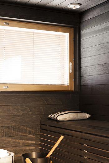 Polar-kohteen sauna on käsitelty Supisaunalla