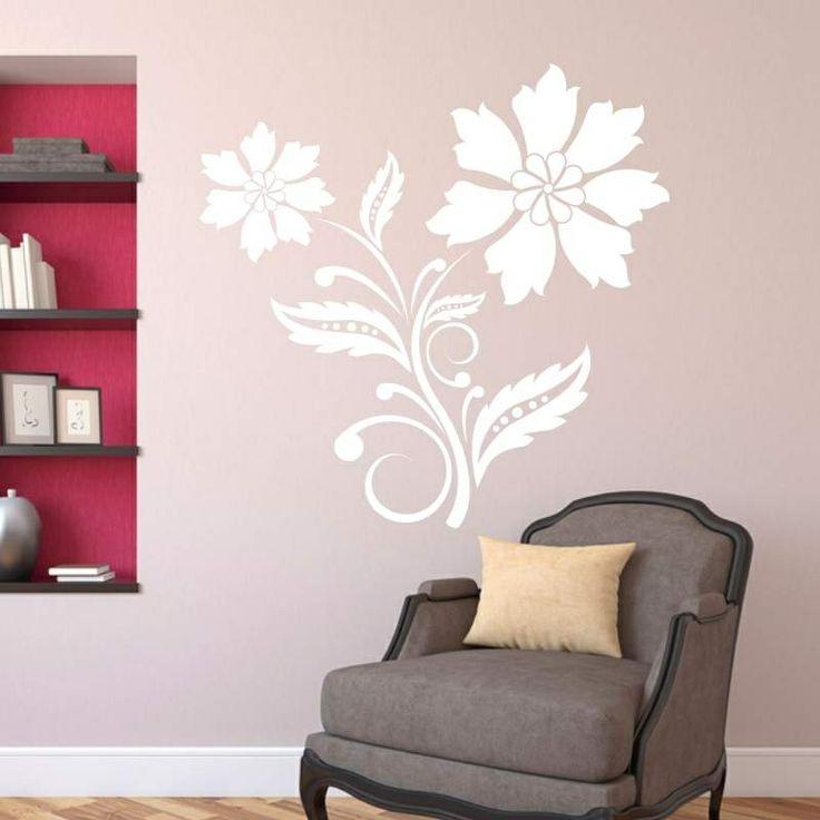 Szablon malarski - Kwiatek | Paint template - Flower | 35,49 PLN #paint #template #flower #home_decor #interior_decor #design #wall_decor #szablon #szablon_malarski #kwiat #kwiatek #dekoracja_ściany #dekoracja_wnętrza