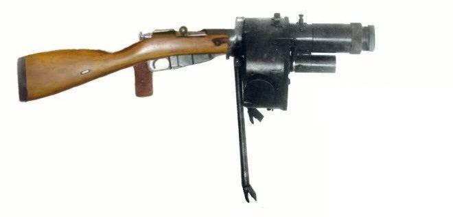 Mosin-Nagant Kulakov Automatic Grenade Launcher