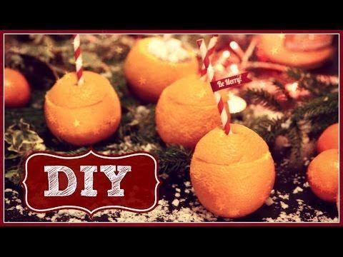 DIY Chocolate Orange Hot Chocolate! Looks so yummy!!! From youtube.com/zoella