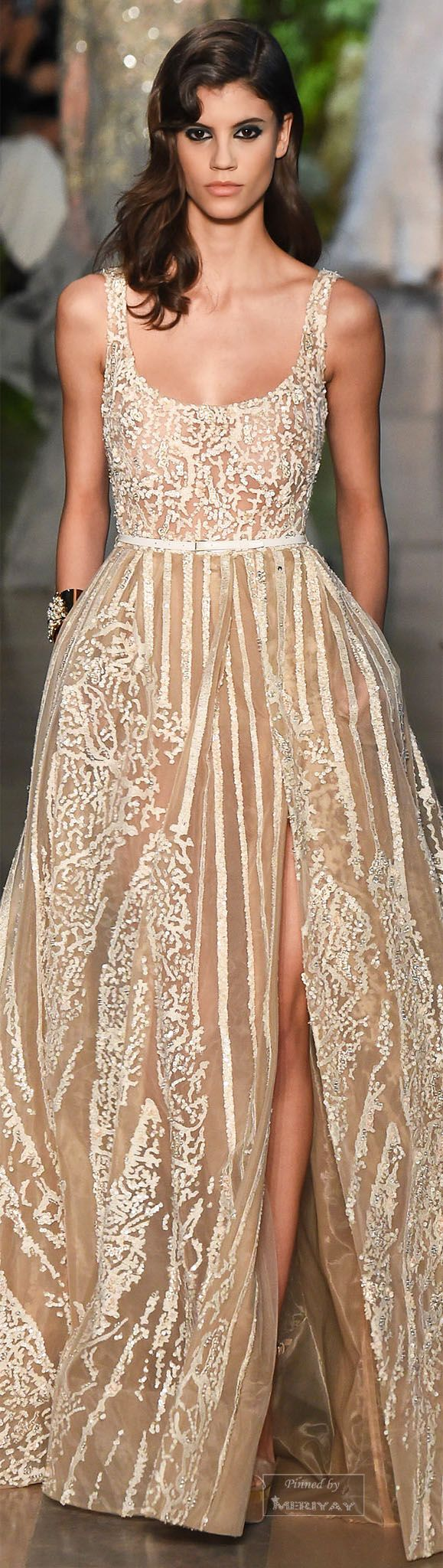 Glamour gowns / karen cox. Elie Saab.Spring 2015 Couture.