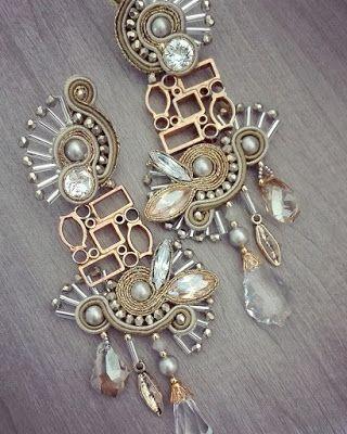 Adel's Laboratory Soutache earrings