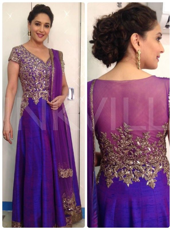 Madhuri Dixit in Manish Malhotra: YaY or Nay?