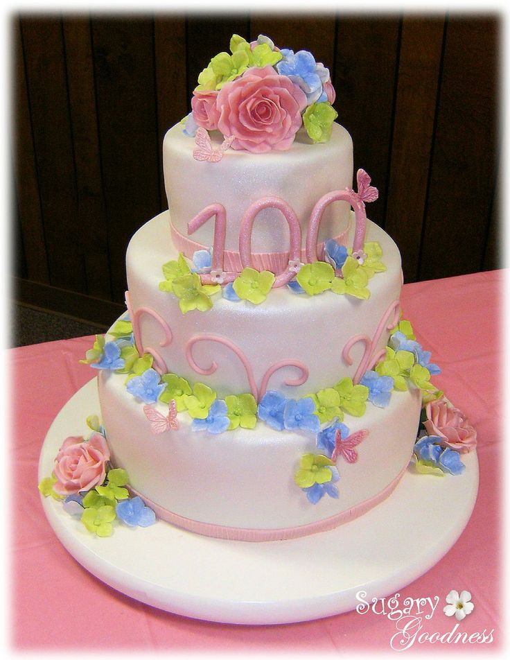 49 best 100th Birthday Cakes you made a century images on