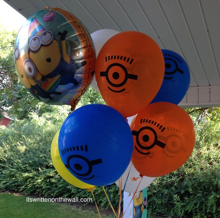 It's Written on the Wall: Despicable Me - Minions Birthday Party-So Much Fun!