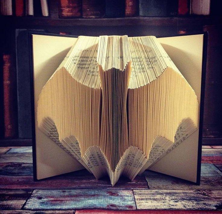 Des livres origamis