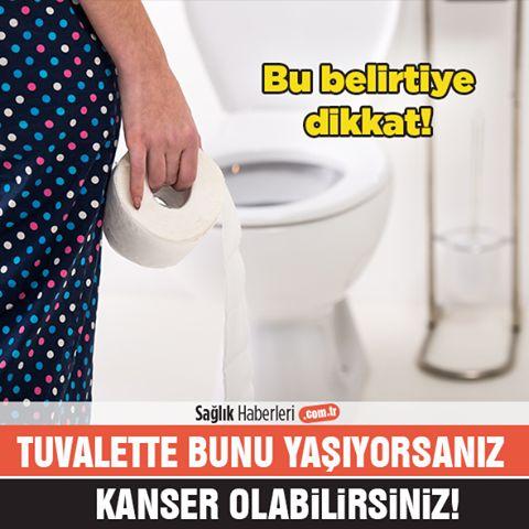 Tuvalete Çıkarken Bunu Yaşıyorsanız Dikkat! #kanser Olabilirsiniz!