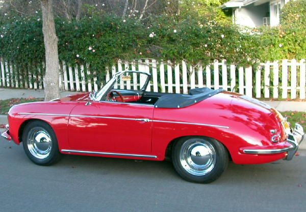 1960 Porsche 356 Roadster Maintenance/restoration of old/vintage vehicles: the material for new cogs/casters/gears/pads could be cast polyamide which I (Cast polyamide) can produce. My contact: tatjana.alic@windowslive.com