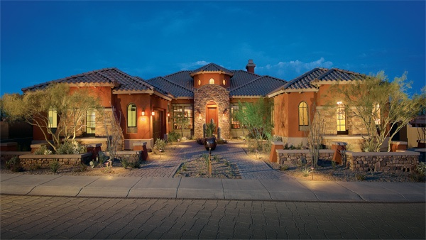 Toll Brothers The La Morra S Single Story Home Design