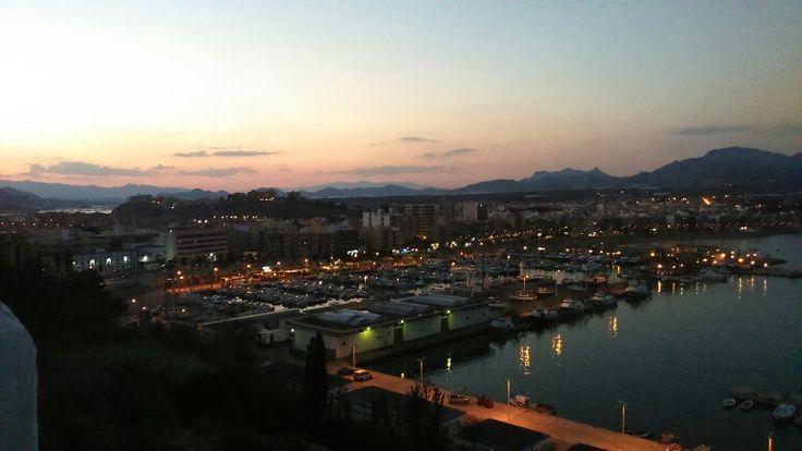 Marina in the evening, Puerto de Mazarron