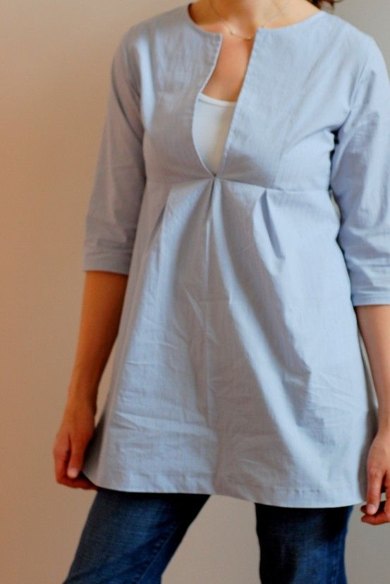 schoolhouse tunic (pattern from sew liberated)