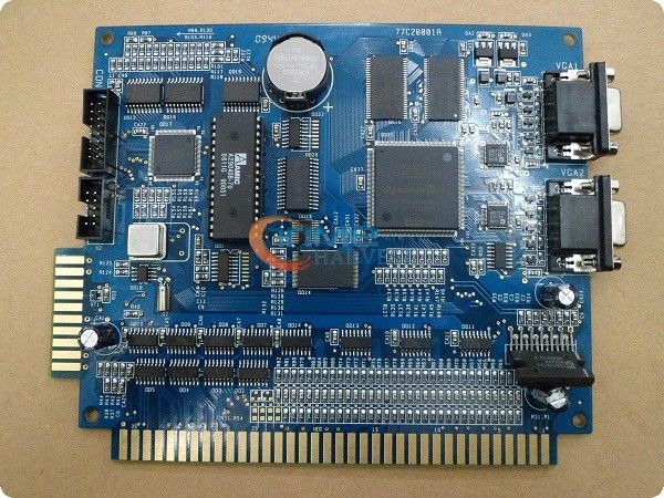 Новое поступление казино доска XXL синий 17 в 1 PCB / 2 VGA слот-игре правления / мульти игры игорные совет по слот аркадной игры машины