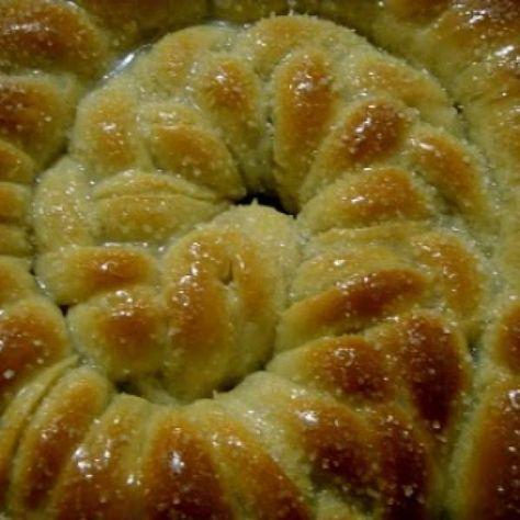 Receita de Pão de açúcar - Pão de açucar, 4 xícaras de farinha de trigo, 1 envelope de fermento seco, 5 colheres de açúcar, 1 colher de café de sal, 1 colhe...