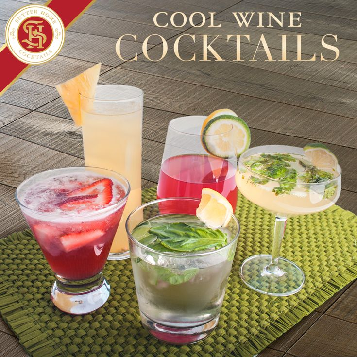 Cool Wine Cocktails