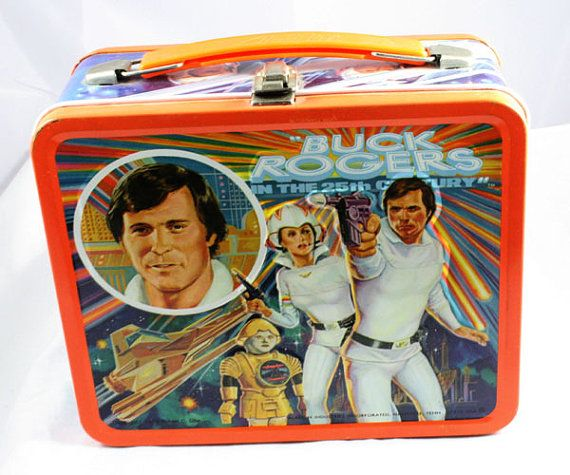 1979 Buck Rogers In the 25th century Lunchbox by cebcollectibles, $65.00