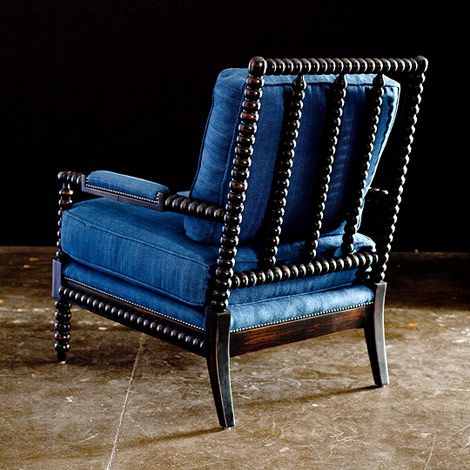 Lacquered Spool Chairs