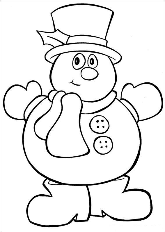 Pre K Christmas Coloring Sheets Coloring Pages