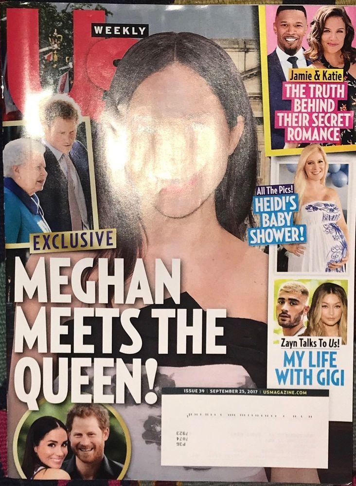 US WEEKLY MAGAZINE SEPTEMBER 25 2017  MEGHAN MEETS THE QUEEN Zayn Gigi    eBay